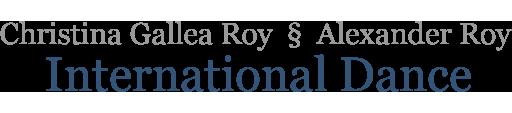 Christina Gallea Roy & Alexander Roy International Dance
