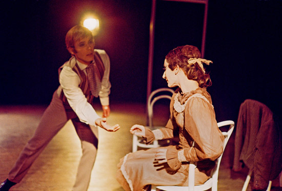 1969-THE GENTLEMAN-CALLER -Bill Duthie & Christina Gallea- photo: Geoff Howard