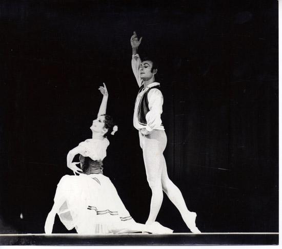 1975- Giselle pas de deux- Christina Gallea & Keith Rosson