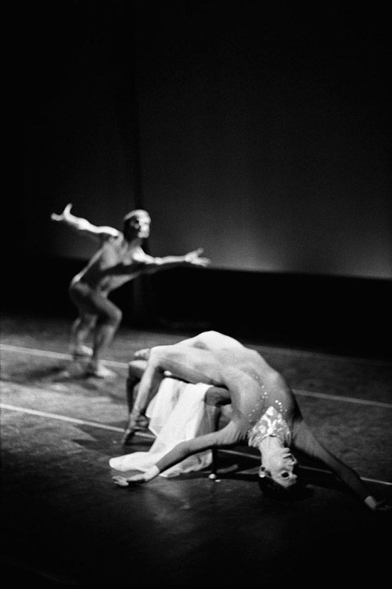 1976- VOICES – Christina Gallea (foreground) photo: Geoff Howard