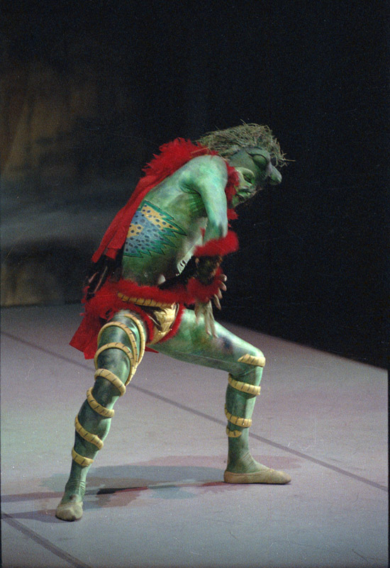 1988-THE MAGIC FLUTE-Graham Woodward as Monostatos -photo: Dabney Forest