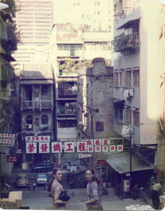ASIA – Christina Gallea & Katherine MacKenzy at Cat Street Market in Hong Kong