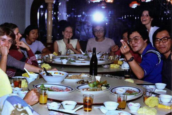 ASIA – Taipei 1981- a Chinese banquet