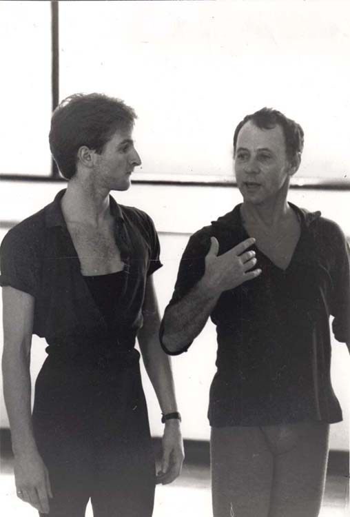 Alexander and Graham Woodward at the Dance Centre, Covent Garden- photo: Suzanne Board