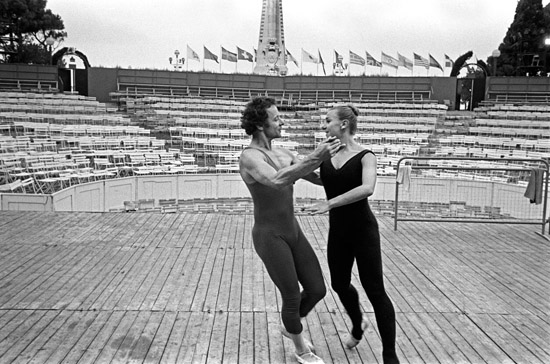 Rehearsing-in-Nice – Alexander Roy & Christine Lassauvageux – Copyright Geoff Howard