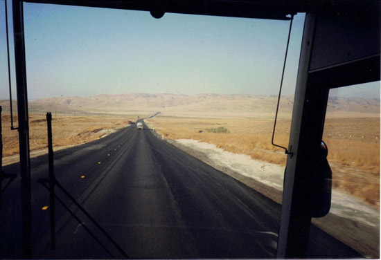 USA – the long straight roads