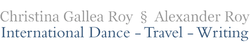 Christina Gallea Roy & Alexander Roy International Dance